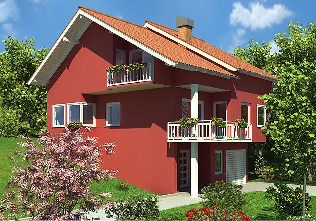 Montažne kuće Dom2