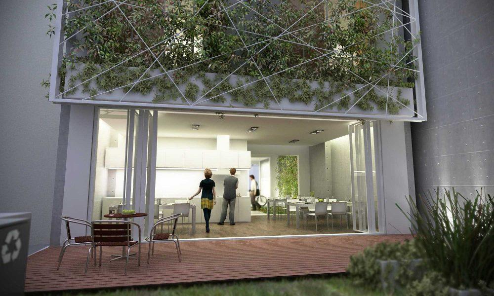 Zelena gradnja Dom2