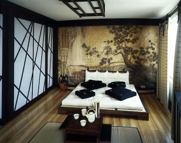 Spavaća soba u azijskom stilu Dom2