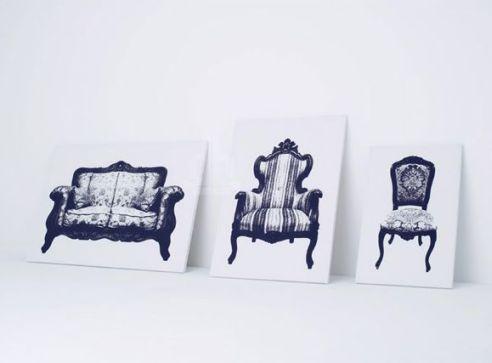 Fotelja Canvas Dom2
