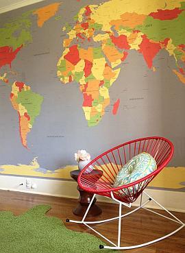 Geografija u interijeru Dom2