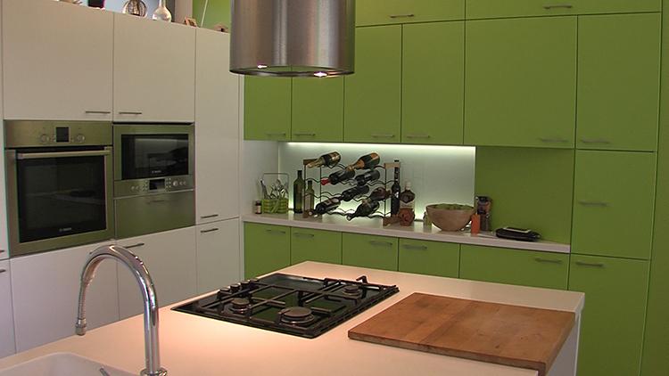 makeover stana kuhinja dom2 zelena boja u interijeru