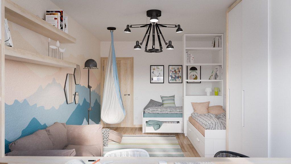 blue-and-wood-bedroom-domnakvadrat