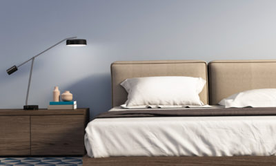 zagasito-plava-spavaća-soba-krevet