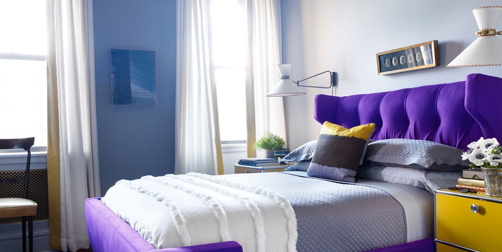 spavaća-soba-ljubičasta-domnakvadrat