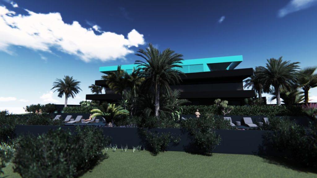 Pogled na Villa M