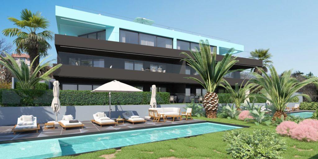 Pogled na prekrasnu Villa M