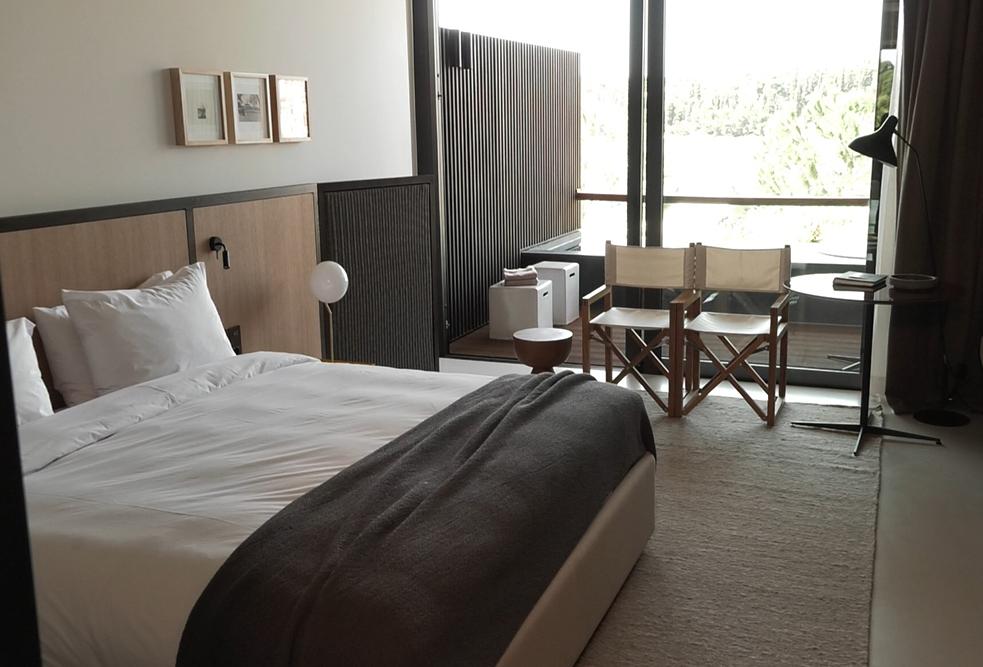 Hotelska soba sa pogledom