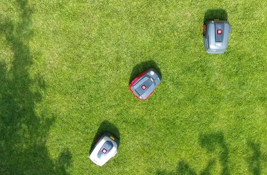 tri-robotske-kosilice-al-ko-na-travnjaku-domnakvadrat
