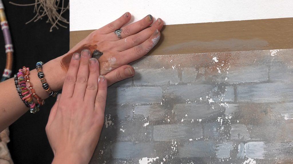 uradi-sam-cigleni-zid-patiniranje-tamnijom-bojom-domnakvadrat