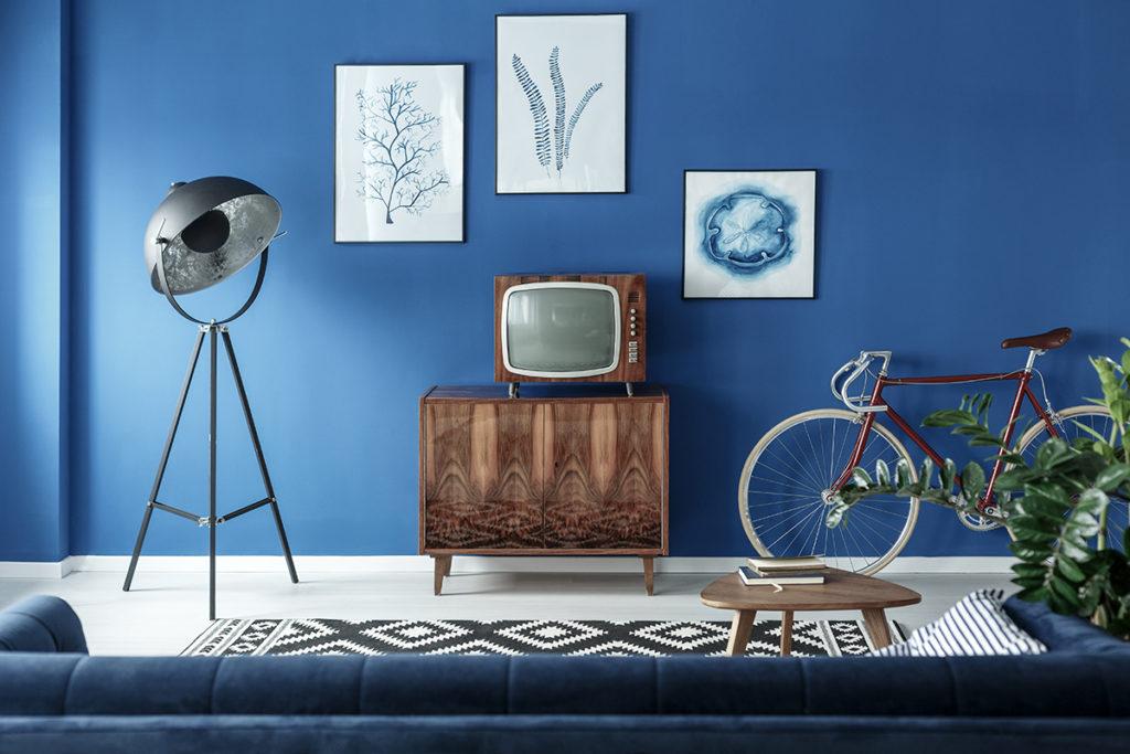 retro-televizor-u retro-ambijentu-domnakvadrat