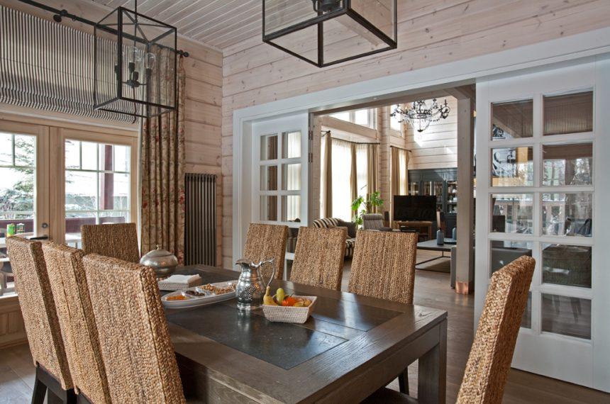 blagovaonica-rustikalni-stil-montažna-kuća-domnakvadrat