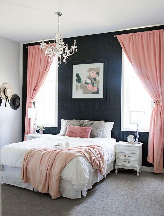 rozi-zastori-bijeli-krevet-domnakvadrat