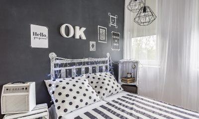 crno-bijela-spavaća-soba-uzglavlje-string-lights-domnakvadrat