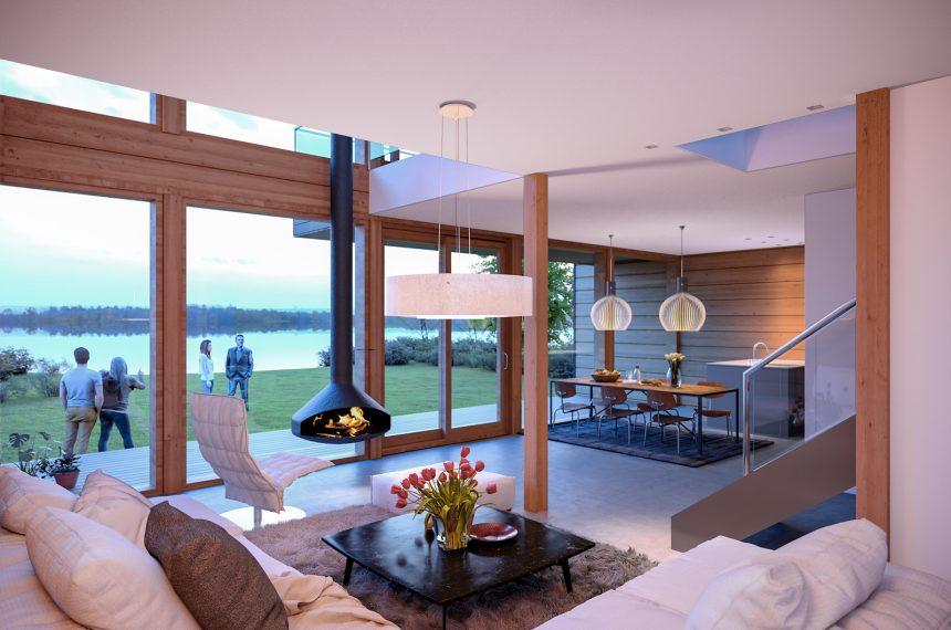 moderna-unutrašnjost-montažne-kuće-domnakvadrat