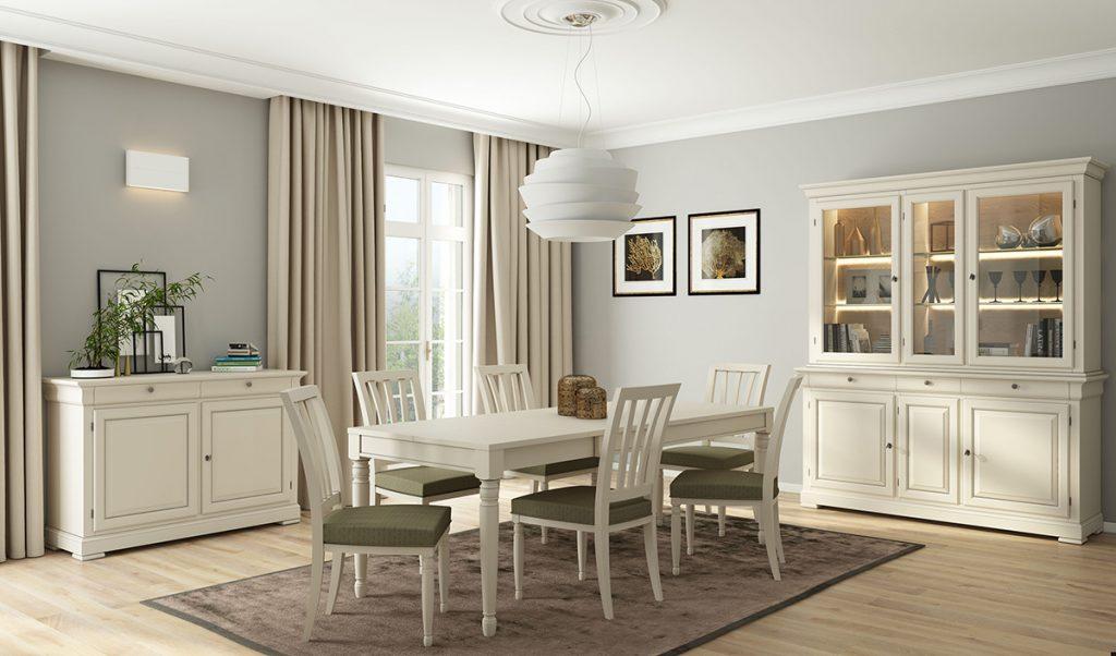 blagovaonica-bijela-stol-stolice-zavjese-mobel-land-domnakvadrat