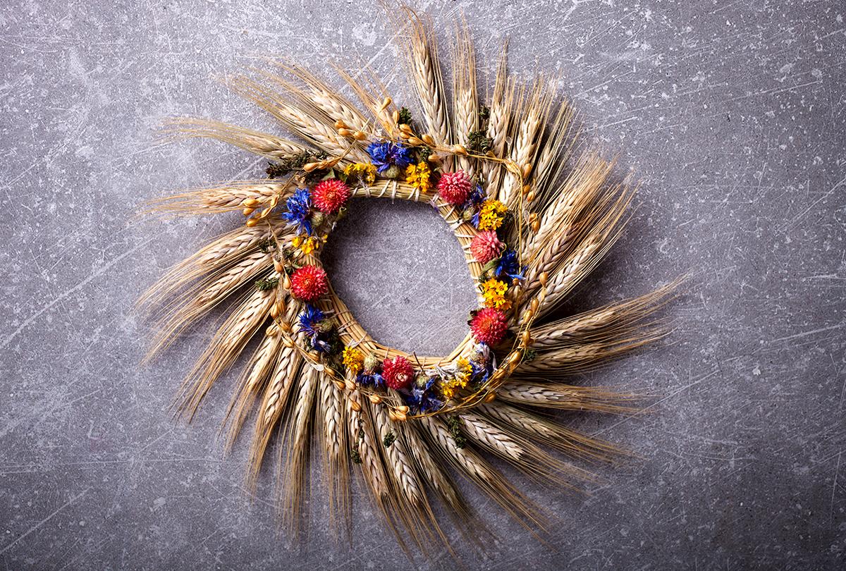 ukrasni-vijenac-pšenica-cvijeće-domnakvadrat