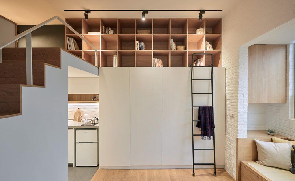 biblioteka-spremište-stan-tajvan-domnakvadrat