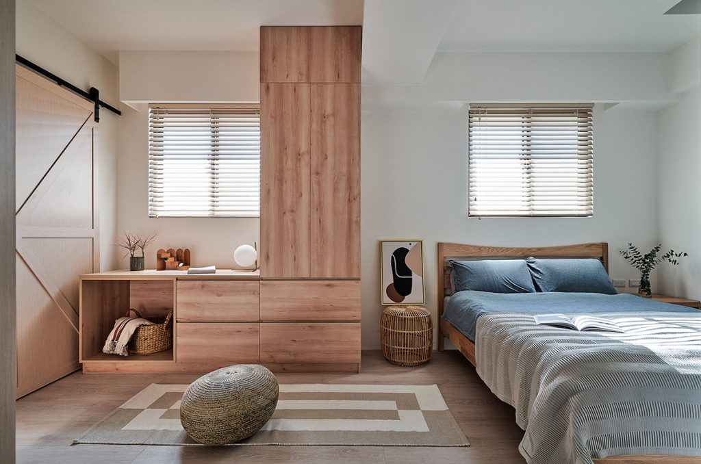 spavaća-soba-krevet-ormari-stan-tajvan-domnakvadrat