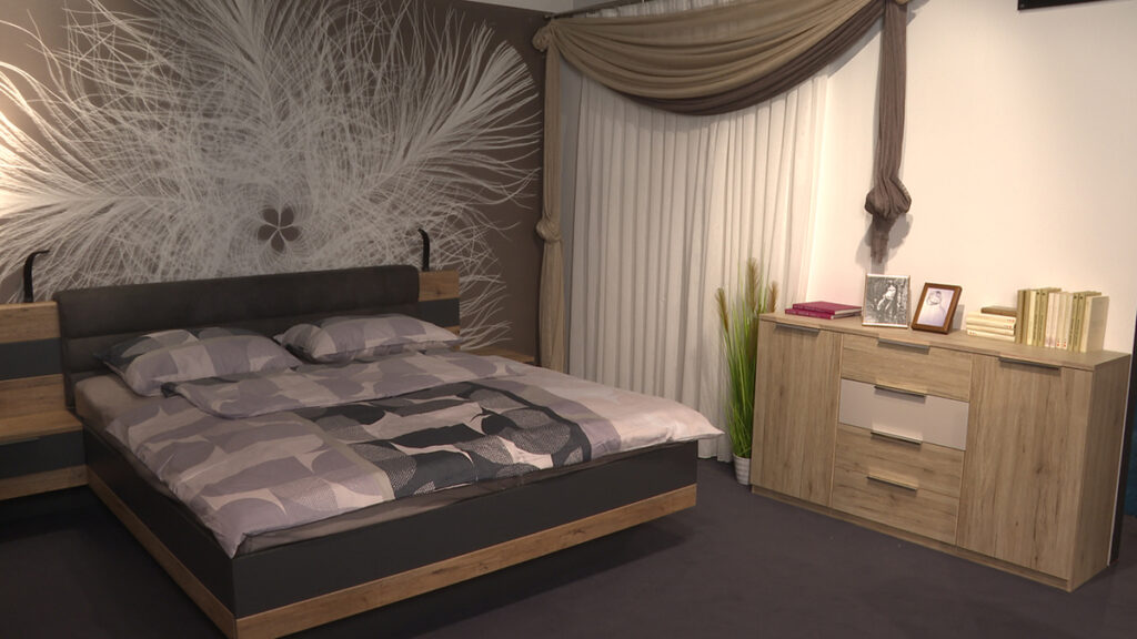 spavaća-soba-sivo-drveni-detalji-lesnina-xxxl-domnakvadrat
