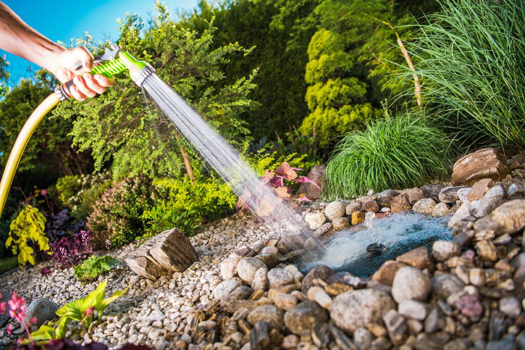 uređivanje-jezerca-u-vrtu-domnakvadrat