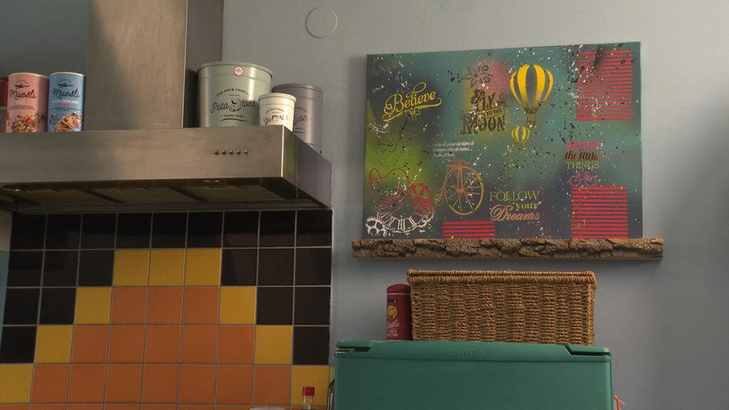 slika-u-kuhinji-stil-uređenja-umjetnica-domnakvadrat