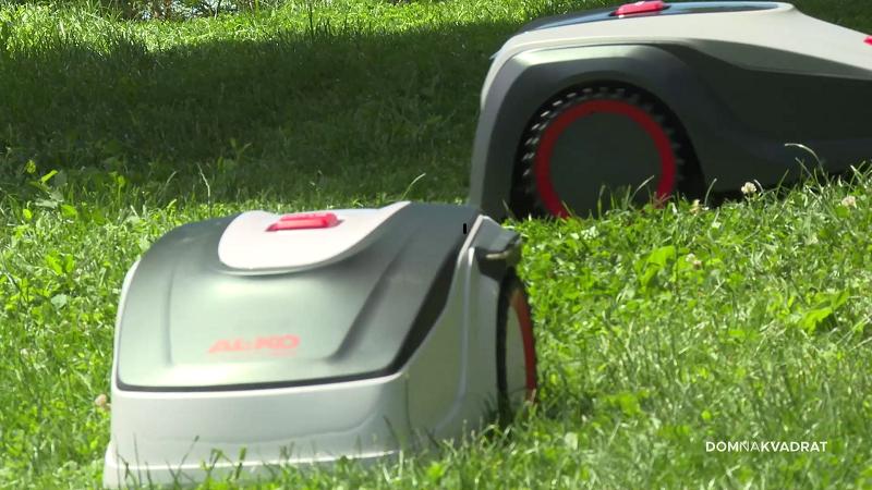 robotske kosilice košnja travnjak