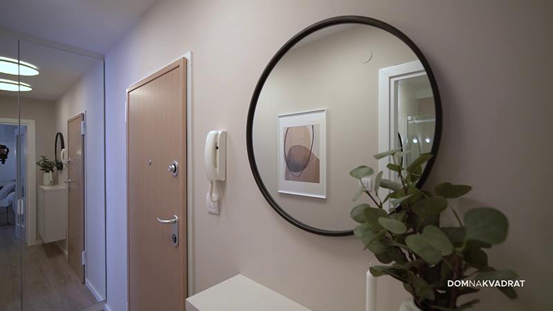 ogledalo redizajn hodnika