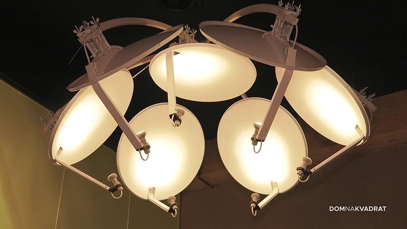plastika lampe namještaj