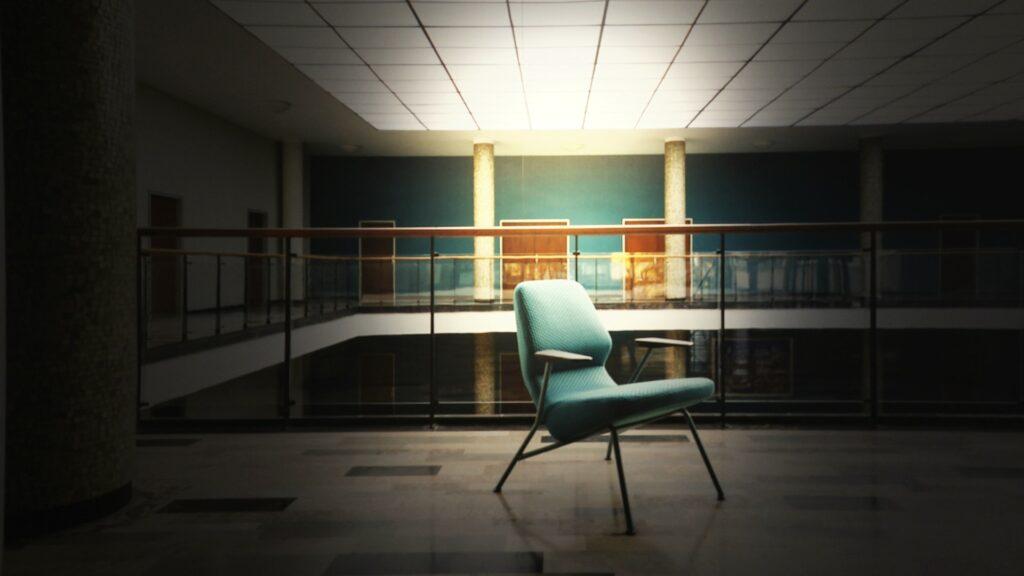 Fotelja zelena Prostoria dizajnerski namještaj