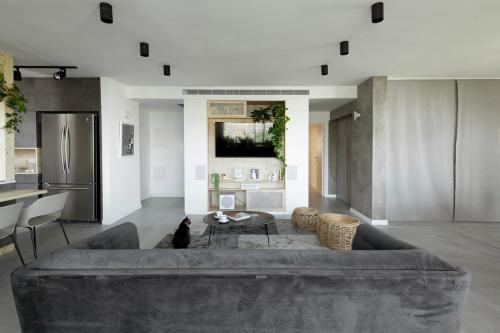 dnevni-boravak-siva-sofa-stan-telaviv-domnakvadrat